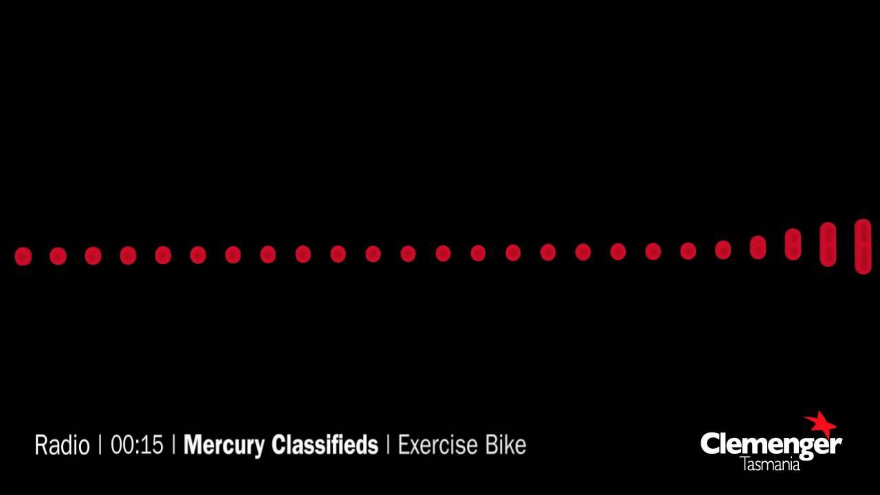 Mercury Classifieds - Exercise Bike (Radio Advert)