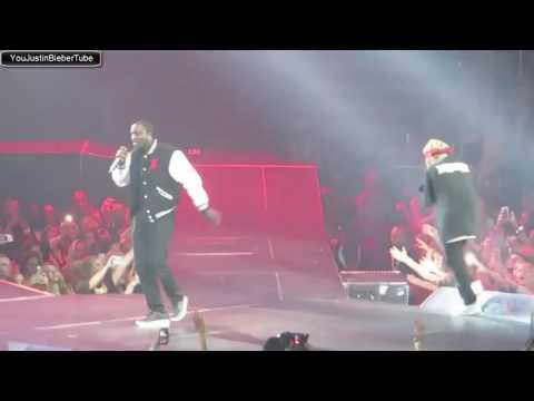 Justin Bieber & Akon Performing I Wanna Love You Live from Atlanta, Georgia 13 04 16