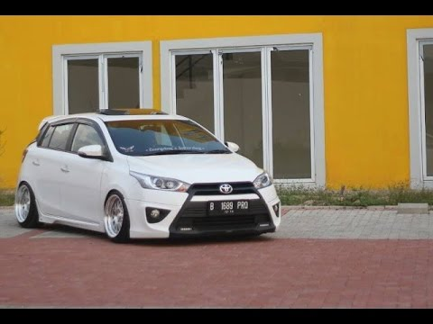 Toyota Yaris Trd Modif All New Camry 2.5 V A/t Inspirasi Modifikasi Gaul Youtube Modifikasiyaris Modifikasiallnewyaris