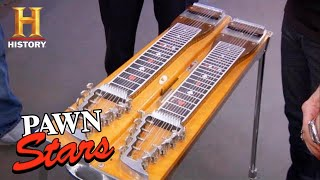 Pawn Stars: TOUGH DEAL for RARE Pedal Steel Guitar (Season 6) | History