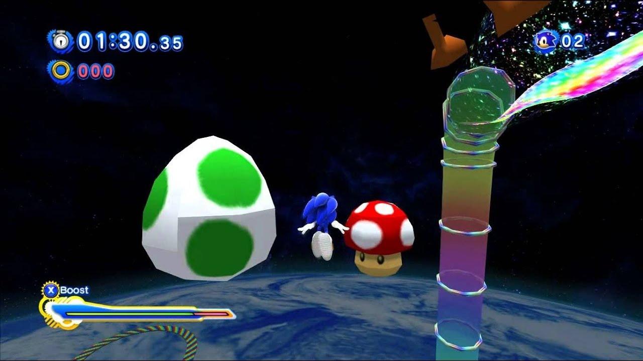 Sonic Generations Modding Highlights – Level Mods – 3WIREL!