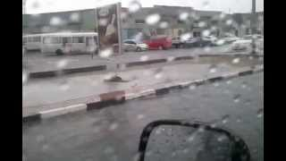Dubai Cars Flooded, Car Got Trapped In Water