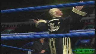 SVR 2011: RIC FLAIR CAW WITH SIGNATURE/FINISHER!