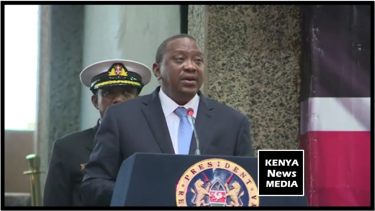 UHURU KENYATTA SPEECH AT LAUNCH OF COUNTDOWN TO 2019 CENSUS