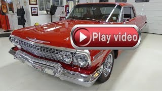1963 Chevrolet Impala SS 409 4 speed 55k Actual Miles