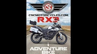 Csc Rx3 Adventure Proven Reliable In Over 200,000 Miles   Rx3 Adventure Motorcyc