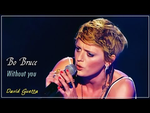 "Amazing Bo Bruce's audition with a Davide Guetta's cover ""Without you"""