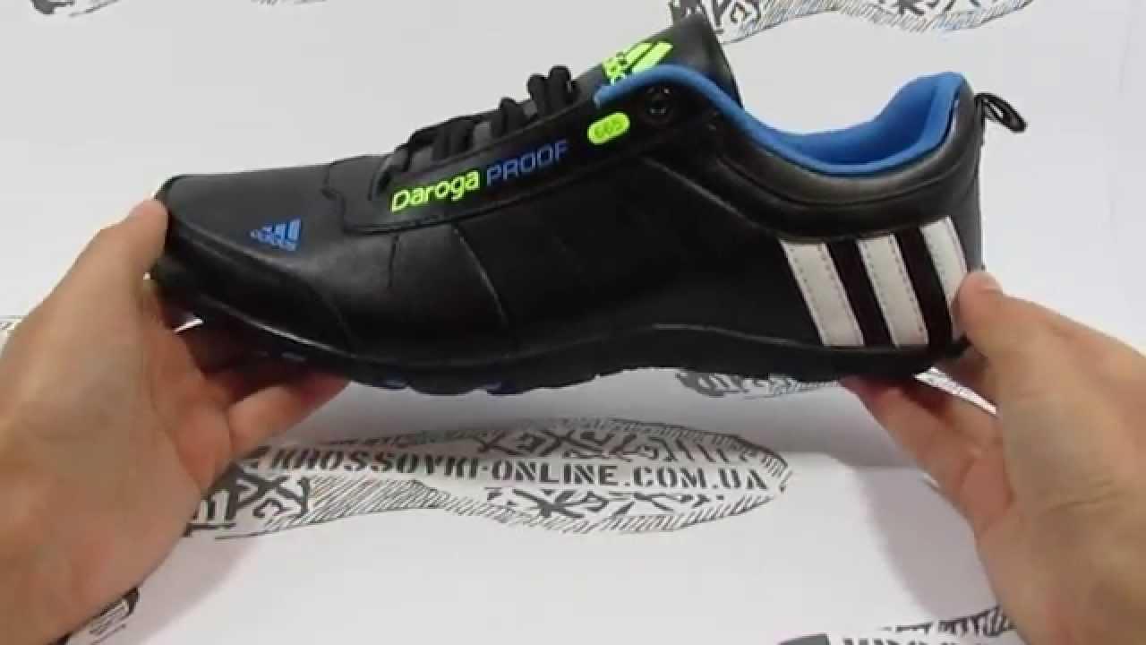9725e7295 Adidas Daroga кожа - YouTube