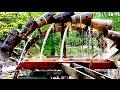 wooden water wheel in europe
