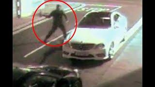 Ladrón quedó noqueado al intentar robar un auto
