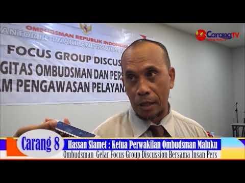 Ombudsman Perwakilan Maluku Gelar Fokus Group Discussion Bersama Insan Pers di Ambon