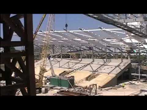 Inside Falmer Stadium