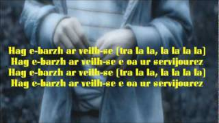 "Nolwenn Leroy - Clip ""Tri Martolod"" - Lyrics - Paroles"