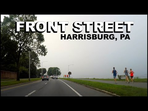 HARRISBURG Pennsylvania - Front Street On The Susquehanna River