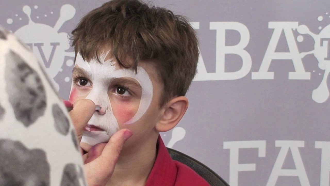 2 Minute Bunny Face Painting Tutorial YouTube