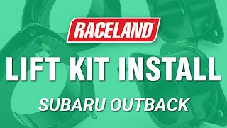 How To Install Subaru Outback Lift Kit (2010-2014)