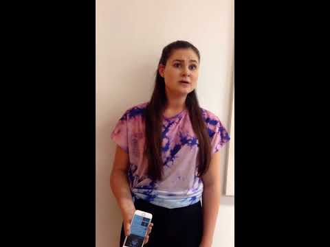 Katie Walder | She Used To Be Mine Waitress | WEMT audition