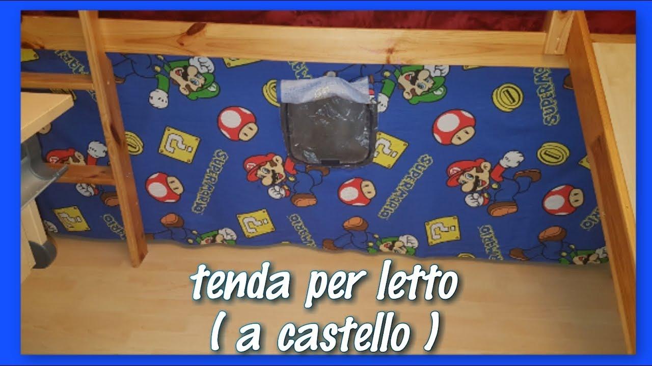 Tenda Letto A Castello.Cucitocreativo Tenda Per Il Letto A Castello