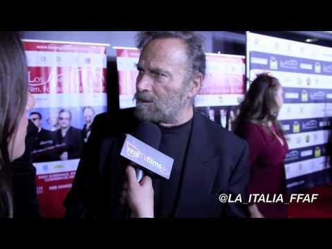 Franco Nero, Nicole Brajer, LA Italia Film Festival