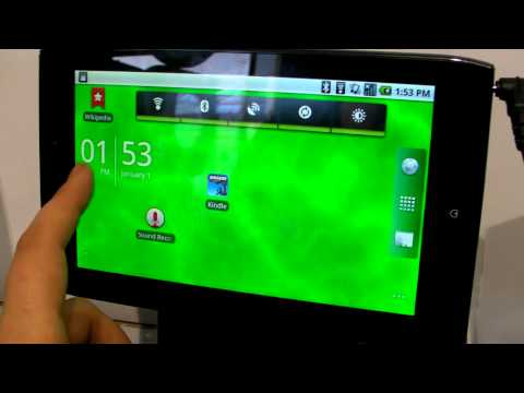 MWC 2011: Acer Iconia A100 first look