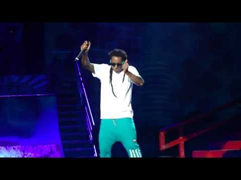 Lil' Wayne - Lollipop / Got Money / We Be Steady Mobbin' / The Motto live @ AMW Festival.[HD]