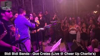 Bidi Bidi Banda - Que Creias (Live @ Cheer Up Charlie's, Austin, TX) - Selena Tribute