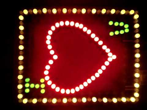 flashing led heart youtube rh youtube com Heart Sensor Circuit Diagram Computer Circuit Diagram