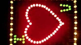 Flashing LED Heart