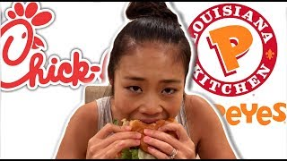 Chinese Girl DESTROYS Chick-Fil-A vs. Popeye's Debate
