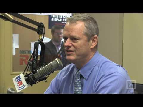Gov Baker discusses Bill Weld in presidential election