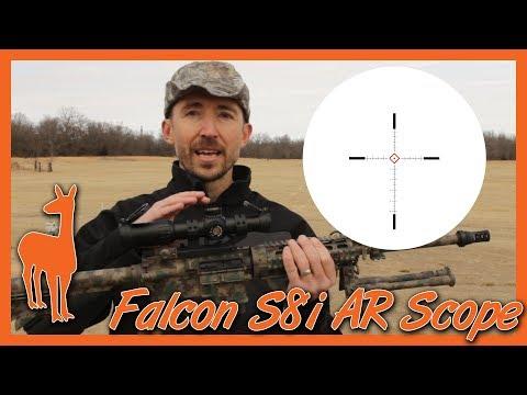 Falcon S8i Rifle Scope: The AR Scope that makes sense.