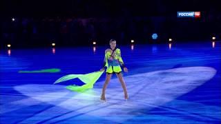 Аделина Сотникова  Гала концерт Олимпийских чемпионов  Москва 2014