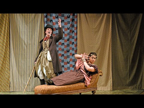 Scenes from Little Women at Dallas Theater Center