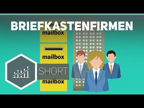 Briefkastenfirmen – Grundbegriffe der Wirtschaft ● Gehe auf SIMPLECLUB.DE/GO