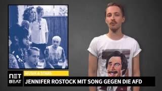 Jennifer Rostock singen Song gegen die AFD!
