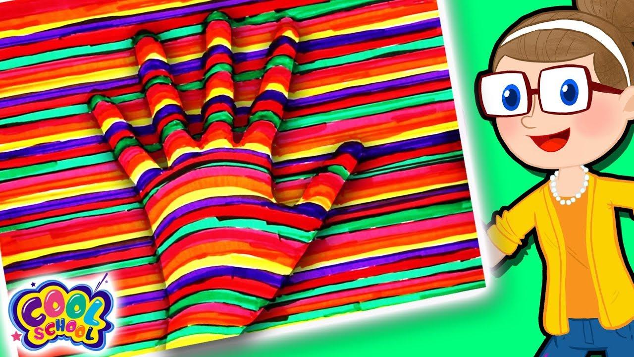 Diy Optical Illusions Crafty Carol Crafts Diy Crafts For Kids Cool School