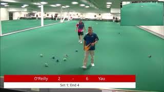 2018 Indoor Singles Championships: Men's Singles