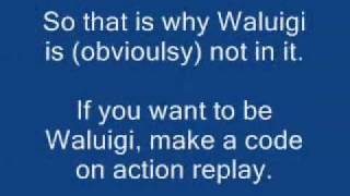 Waluigi is NOT in Super Mario 64 DS! And I can prove it!!!