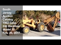 February 26, 2017 Catalog Yellow 1962 Case 530 Backhoe Model 32 - South Jersey Auction