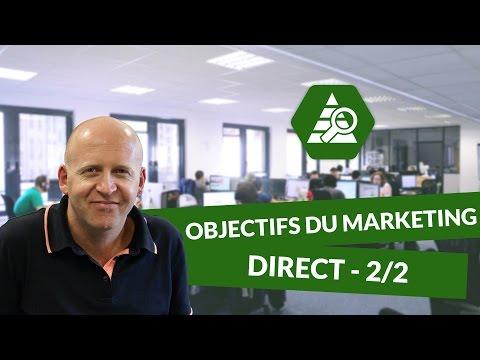 Les objectifs du Marketing direct 2/2 - Marketing - digiSchool