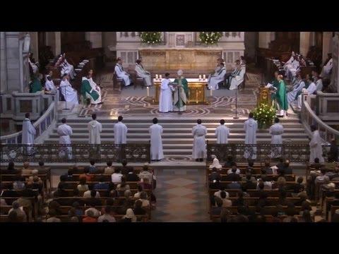 Messe de rentrée du Séminaire de Paris le 14 septembre 2013
