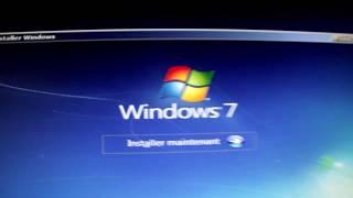 Ré-Installer Windows 7 sur votre PC avec un CD d'install