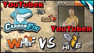 *YouTuber vs YouTuber* Th12 LIVE War Attack | Clash of Clans
