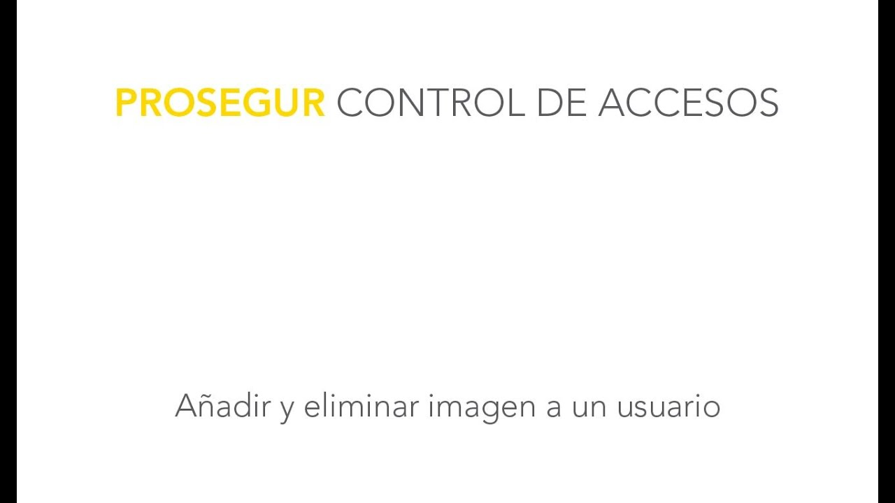 Prosegur Alarms | Access Control | Households and individuals
