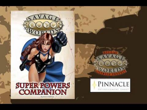 Game Geeks #142 Super Powers Companion for Savage Worlds