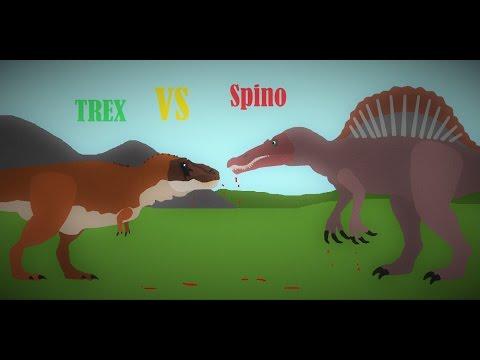 Tyrannosaurus Rex Vs Spinosaurus