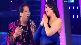 5 موووواه   دلع الراقصة شمس مع النجم شعبان عبد الرحيم على اغنية   هبطل السجاير