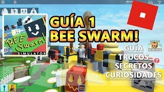 Bee Swarm Simulator: get Royal Jelly, tricks, secrets, money, Roblox Spanish Tutorial Guide 1