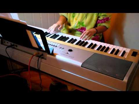 Miley Cyrus My Sad Christmas Song piano cover