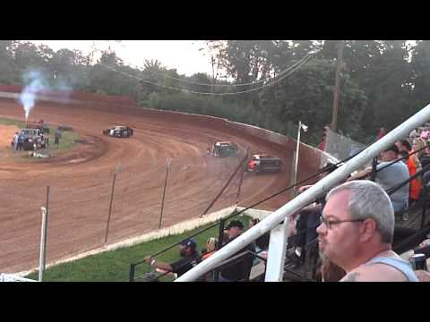 lake cumberland speedway dustin duncan 8-20-11 hot laps